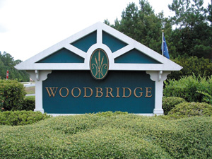 Woodbridge Entrance